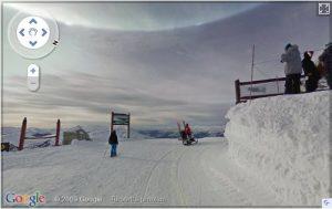 Google Streetview, bzw. Google Pistenview